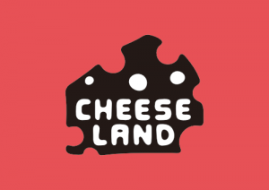 Cheeseland Black Red Logo